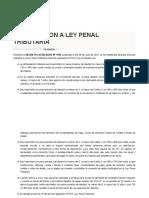 Delito Penal Tributario 2013 Peru