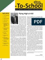 ASIJ Back-to-School Newsletter 2010