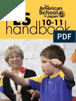 ASIJ Elementary School Handbook 2010-11
