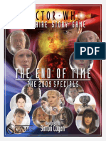 Doctor Who Unofficial Solitaire Game, by Simon Cogan :End of Time Expansion