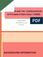 masisn vitamin a and vad