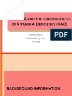 masisn vitamin a and vad