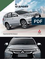 Montero Sport Brochure 2016