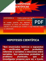 HIPOTESIS CIENTIFICAS