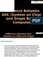 Difference Between SOC and Single Board Computer Ppt1