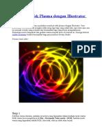 Membuat Efek Plasma Dengan Illustrator