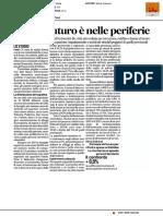 Fano, il futuro è nelle periferie - Il Corriere Adriatico del 12 novembre 2016