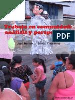 Trabajo en Comunidades -Analisis y Perspectivas