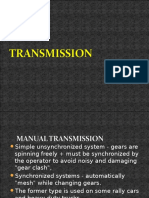 Transmission and Gear
