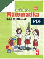 Asyiknya Belajar Matematika Kelas 5 Mas Titing Sumarmi Siti Kamsiyati 2009