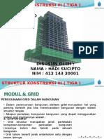 Presentasi Grid & Modul - Sk Tiga