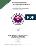 Tugas Makalah Analisis Investasi Dan Manajemen Risiko_strategi Investasi Di Pasar Modal