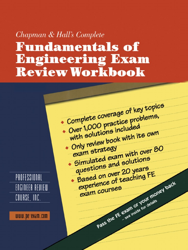 fe exam review book yield engineering bending