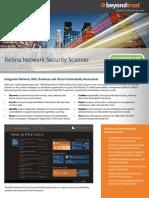 Beyond Trust - Retina Network Security Scanner Data Sheet