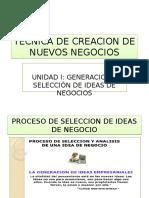Proceso de Seleccion de Ideas
