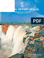 Annual Rreport 2015-16 on Tourism