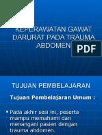 Keperawatan Gawat Darurat Pada Trauma Abdomen