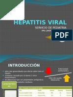 Hepatitis Viral - Jhonatan Infante - Pediatria II