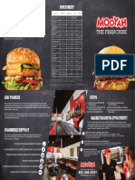 Mooyah Franchise Brochure Burger