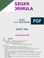 5. Seger Formula