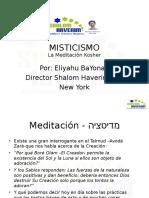 Misticismo Meditacion