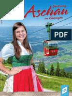 Gastgeberbroschüre Aschau im Chiemgau