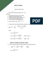 Series de Fourier-Formulario