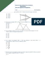 3ra Separata Del PROGRAMA de RECUPERACIÓN ACÁDEMICA Del 4to Área Del Triángulo