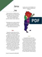 Mapa Folklórico Argentino