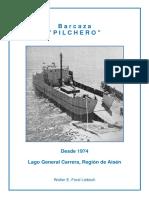 "Chile, ""Barcaza ""Pilchero"", lago General Carrera, Aisén"""