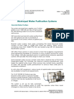 GW01 Municipal Water Purification Systems
