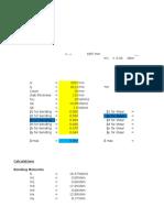 Slab Design spread sheet