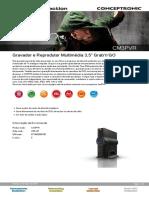 Datasheet CM3PVR Portugese