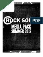 Rock Sound Magazine Media Pack