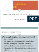 6. Attitude and Job Satisfaction