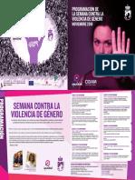 IGUALDAD | Programación de la Semana contra la Violencia de Género en Coslada