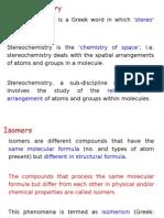 2. Stereochemistry