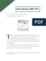 Pirc & Modern Defence B06-B09 [Nigel Davies & Andrew Martin]!!