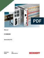 BECKHOFF - CX9020 (2016) bdb6d568c7