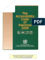 Accessibility Code of Pakistan 2016