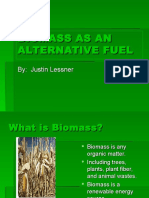 Biomass as an Alternative Fuel