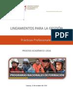 Lineamientos Prácticas Profesionales i 2016 201016definitivo Signed 1 Signed