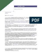 1.7.2 Job Offer Letter