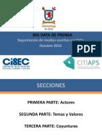 Big Data Informe de Prensa Octubre
