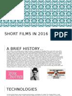 Short films in 2016.pptx