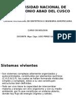 SISTEMAS VIVIENTES 2016.pptx