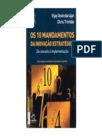 Inovação Estratégica - 10 mandamentos