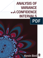[Bird] Analysis of variance via confidence intervals.pdf