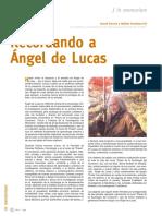 AEDEMO2012 Angel de Lucas in Memoriam