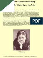 H.P. Blavatsky and Theosophy.pdf